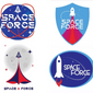 Space Force images on T-shirts, coffee mugs, hats and other merchandise have become a national craze. (Associated Press/File)