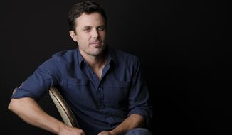 "In this Aug. 3, 2018 photo, actor Casey Affleck poses for a portrait at the Four Seasons Hotel in Los Angeles to promote his upcoming film ""The Old Man & The Gun,"" in theaters on Sept. 28. (Photo by Chris Pizzello/Invision/AP)"