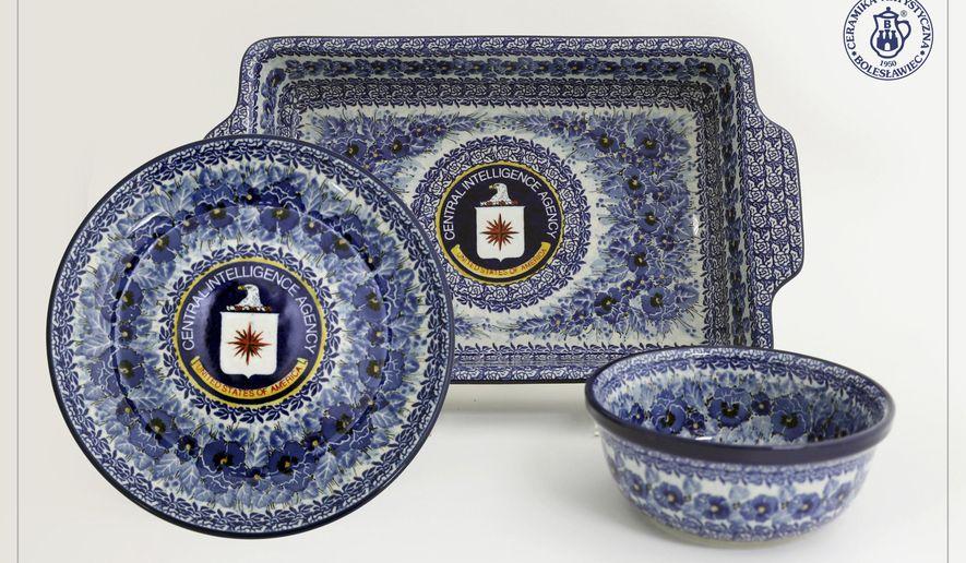 Secretly Handmade For Cia Pottery From Poland Washington Times