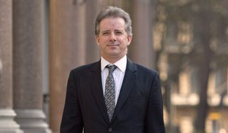 Christopher Steele spoke with former Associate Deputy Attorney General Bruce Ohr, who relayed the Trump talk back to the same FBI that had banned him, according to FBI documents and congressional testimony. (Associated Press/File)