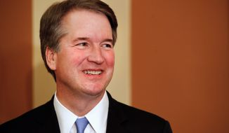 Supreme Court nominee Brett M. Kavanaugh isn't afraid to break with his colleagues of the federal appeals court. (Associated Press/File)