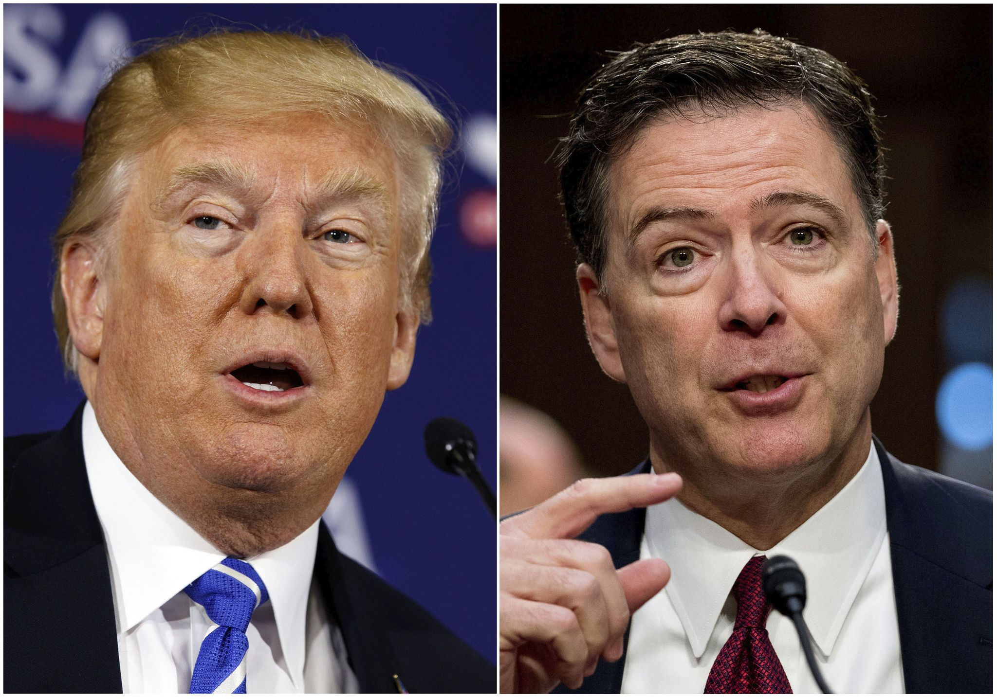 photo image Donald Trump slams 'corrupt' former FBI officials for opening spy probe of him