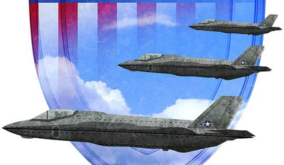 The F-35 and National Security Illustration by Greg Groesch/The Washington Times