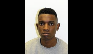 This undated handout photo provided by the Metropolitan Police shows George Koh. A British fashion model has been convicted of murdering a more successful rival after a social media-fueled dispute. A jury found George Koh guilty on Monday, Aug. 13, 2018 of stabbing Harry Uzoka through the heart outside Uzoka's London home. The 25-year-old victim was signed to London's Premier Model Management agency and had modeled for GQ and Zara. (Metropolitan Police via AP)