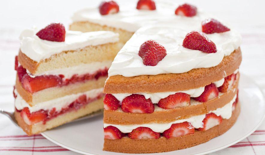 Strawberries Cream Cake America S Test Kitchen