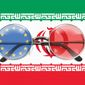 Illustration on the EU's euphoric view of Iran's intentions by Linas Garsys/The Washington Times