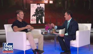 """Director Peter Berg talks about """"Mile 22"""" during a """"Fox and Friends"""" segment, Aug. 14, 2018. (Image: Fox News screenshot)"""