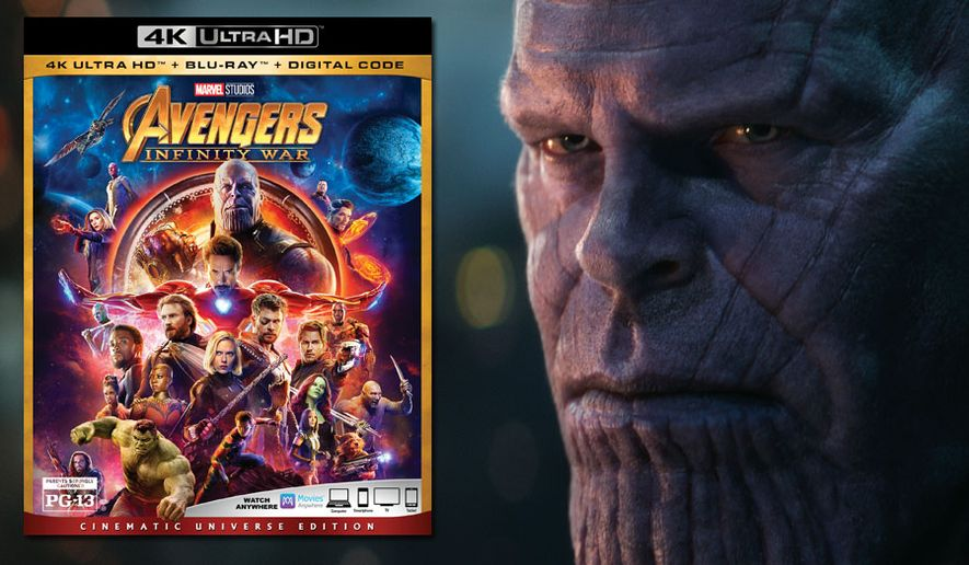 "A lifelike Thanos (Josh Brolin) stars in,""Avengers: Infinity War: Cinematic Universe Edition"" now available on 4K Ultra HD from Walt Disney Studios Home Entertainment. (Marvel Studios 2018)"