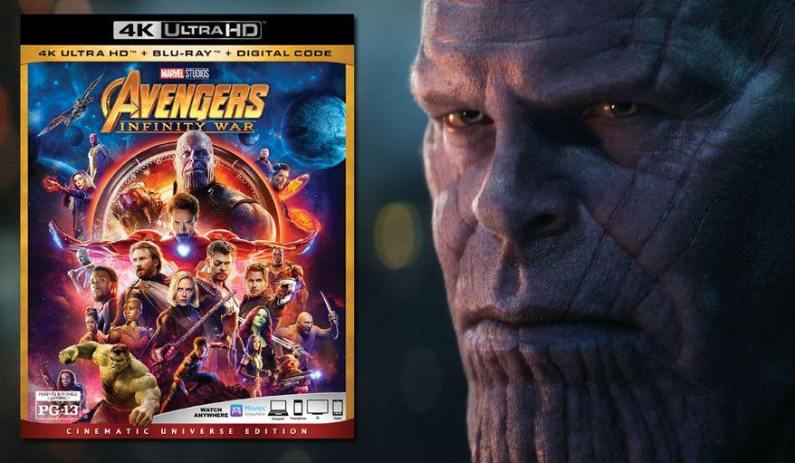 "A lifelike Thanos (Josh Brolin) stars in,""Avengers: Infinity War: Cinematic Universe Edition"" now available on 4K Ultra HD from Walt Disney Studios Home Entertainment. (Marvel Studios 2018)"