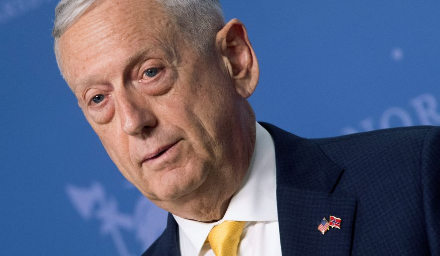 """Today we are the most powerful military in the world and find ourselves in a competition among great powers,"" said Secretary of Defense James N. Mattis. This week he issued a memorandum to the military that emphasized the need for discipline and lethality. ""We must have better individual and unit discipline than our enemies,"" Mr. Mattis said. (Associated Press)"