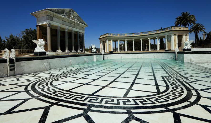 File In This Tuesday Aug 14 2018 File Photo The Neptune Pool At Hearst Castle In San
