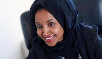 Minnesota state Rep. Ilhan Omar (Associated Press)