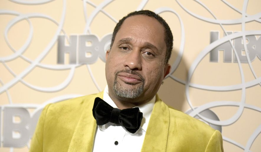 """FILE - In this Jan. 8, 2017 file photo, Kenya Barris arrives at the HBO Golden Globes afterparty in Beverly Hills, Calif. Netflix says it's signed """"black-ish"""" creator Kenya Barris to an exclusive production agreement. The multi-year deal announced Thursday makes Barris the latest prominent TV showrunner to jump from broadcast and cable to the streaming platform.(Photo by Richard Shotwell/Invision/AP, File)"""