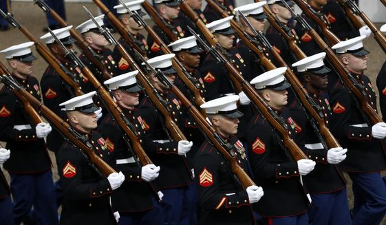 Some strategists and many Marines say the Corps is moving further afield from its core mission as America's expeditionary force in combat. (Associated Press/File)