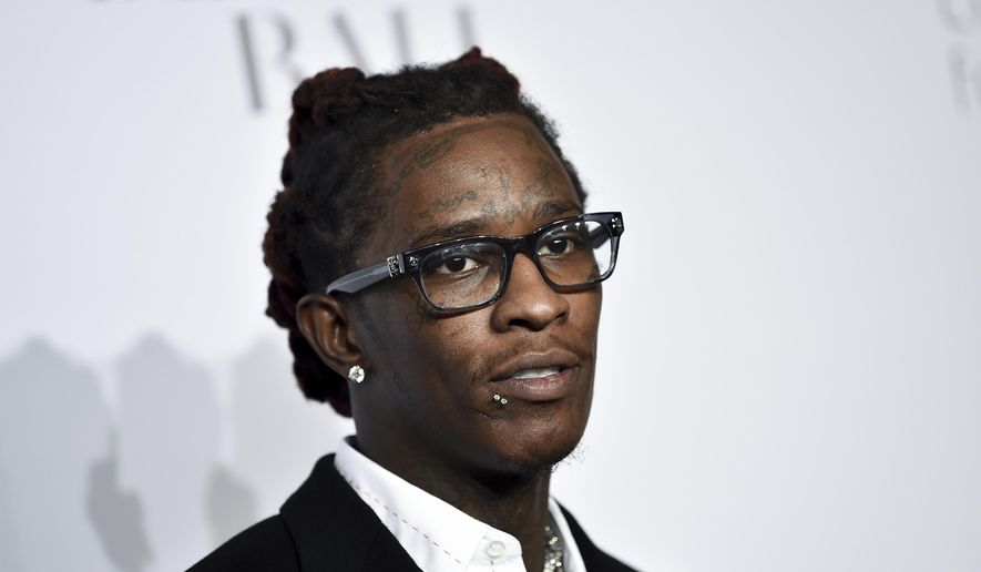 In this Sept. 14, 2017, file photo, Young Thug attends the 3rd Annual Diamond Ball in New York. (Photo by Evan Agostini/Invision/AP, File)