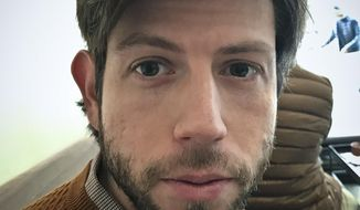 This photo provided by Nimrod Reitman on Thursday, Aug. 16, 2018, shows Reitman, a former New York University graduate student, who has sued a prominent professor, alleging she sexually harassed and stalked him for more than three years. (Nimrod Reitman via AP)