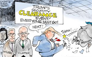 Trump's Security Clearance Event!