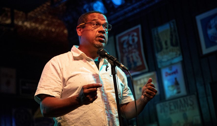 Rep. Keith Ellison, the vice chair of the Democratic National Committee and the party's nominee for Minnesota attorney general, has been accused by a woman who is willing to talk of physical abuse in their relationship. (Associated Press/File)