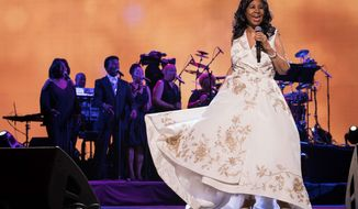 Aretha Franklin performing during the 2017 Tribeca Film Festival in New York in 2017.    Associated Press photo