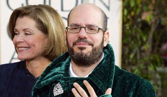 """David Cross and actress Jessica Walter of the television comedy """"Arrested Development,"""" arrive for the 61st Annual Golden Globe Awards in Beverly Hills, California, Jan. 25, 2004. (AP Photo/Kevork Djansezian) ** FILE **"""