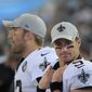 Even at 39 years old, New Orleans Saints quarterback Drew Brees has an arsenal of weapons in the perfect offense for him. (Associated Press)