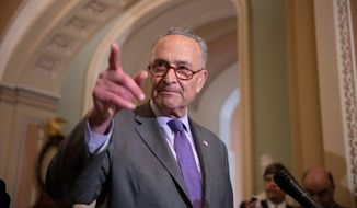 """[Supreme Court] nominees have to be able to answer questions with sufficient substance,"" said Senate Minority Leader Charles E. Schumer."