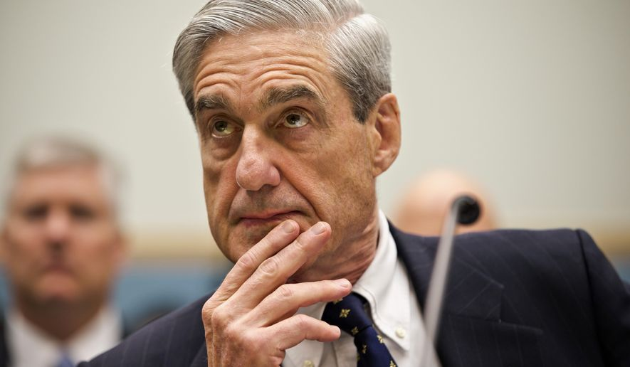 Then-FBI Director Robert Mueller listens as he testifies on Capitol Hill in Washington, Thursday, June 13, 2013, as the House Judiciary Committee held an oversight hearing on the FBI. (Associated Press)  ** FILE **