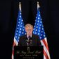 """U.S. national security adviser John Bolton said the Trump administration was not seeking a regime change in Iran, but """"massive change"""" in its behavior. (ASSOCIATED PRESS)"""