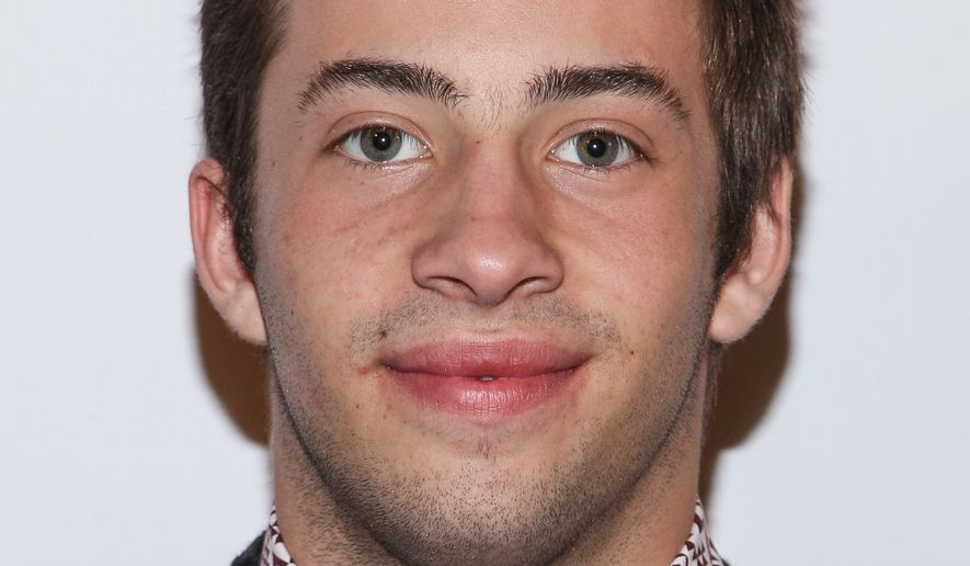 Actor Jimmy Bennett  arrives at Elizabeth Stanton's 18th birthday benefiting Toys for Tots at Belasco Theatre on December 13, 2013 in Los Angeles. (Photo by Paul A. Hebert/Invision/AP)
