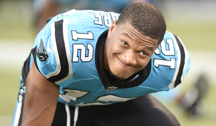 best service 4e4e3 0ad79 DJ Moore embarks on NFL career with big expectations ...