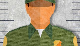 Busted at the Border Illustration by Greg Groesch/The Washington Times