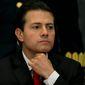 Mexican President Enrique Pena Nieto. (Associated Press)