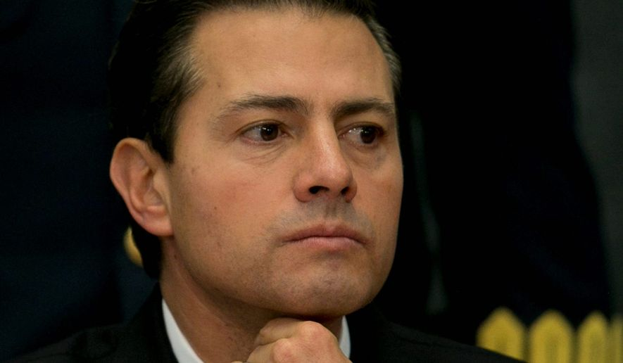 Mexican President Enrique Pena Nieto. (Associated Press)