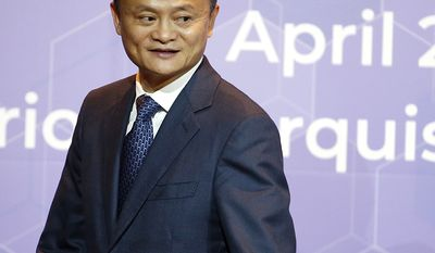 19. Jack Ma, 53, e-commerce, $39 B   Founder and chairman of Alibaba Jack Ma leaves after signing the memorandums of understanding linked to the investment in the country during a press conference Bangkok, Thailand, Thursday, April 19, 2018. The Chinese e-commerce giant Alibaba has agreed to step up investments in Thailand as competition between online retailers heats up in fast-growing Southeast Asia. (AP Photo/Sakchai Lalit)