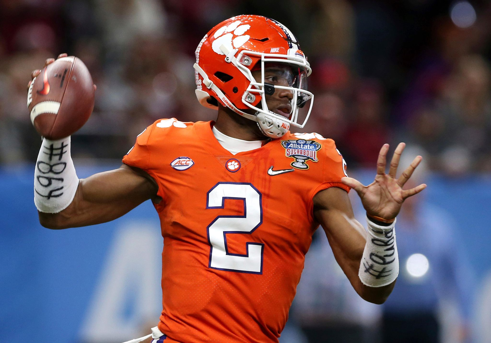 Fans for No. 2 Clemson eager to see QB backup Lawrence - Washington ... 09f59a976