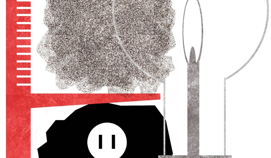 Illustration on reforms of the Clean Power Plan by Alexander Hunter/The Washington Times