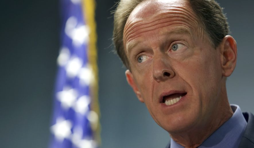 """I am pleased that Judge Baxter was confirmed by the United States Senate today,"" said Sen. Pat Toomey, a Republican. (Associated Press)"