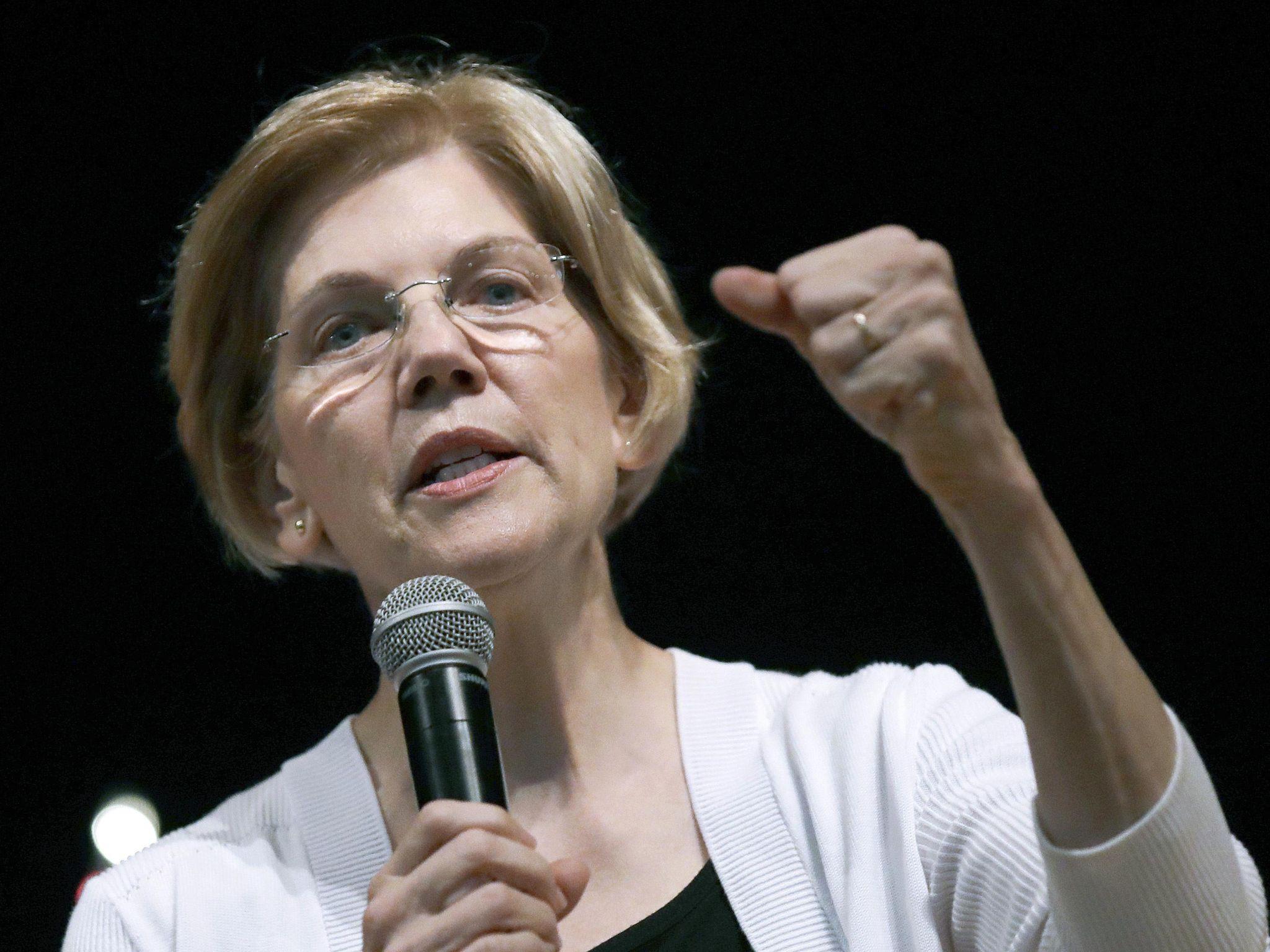 Elizabeth Warren: 'I'm not a person of color'