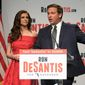 Florida Republican gubernatorial candidate Ron DeSantis drew major criticism on Wednesday when he made a remark about voters picking Democratic opponent Tallahassee Mayor Andrew Gillum instead of him. Mr. Gillum avoided polarizing language after his victory. (Associated Press)