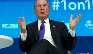 "Michael Bloomberg, former New York City mayor, bankrolled a year-long effort to place privately funded lawyers as ""special assistant attorneys general"" in at least six states with specific instructions to work on ""clean energy, climate change, and environmental interests."" (Associated Press)"
