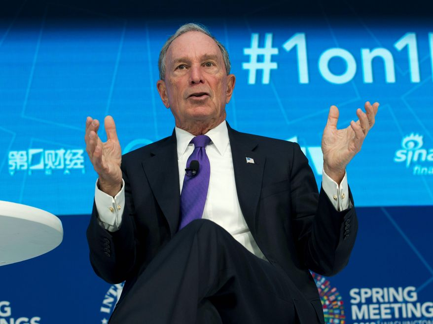 """Michael Bloomberg, former New York City mayor, bankrolled a year-long effort to place privately funded lawyers as """"special assistant attorneys general"""" in at least six states with specific instructions to work on """"clean energy, climate change, and environmental interests."""" (Associated Press)"""
