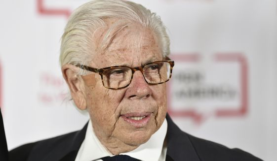 Journalist Carl Bernstein attends the 2018 PEN Literary Gala at the American Museum of Natural History on Tuesday, May 22, 2018, in New York. (Photo by Evan Agostini/Invision/AP)