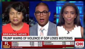 "CNN's Don Lemon defended the militant left-wing collective Antifa during his show Tuesday night, arguing that while the anti-fascist movement has its problems with violence, no organization is ""perfect."" (CNN)"