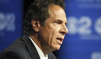 All eight senators who were members of the Independent Democratic Conference face primary challengers this year. That's despite a deal worked out by Gov. Andrew Cuomo this spring that was supposed to end the feud. (Associated Press)