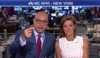 "MSNBC anchors Stephanie Ruhle and Ali Velshi discuss ""selfish"" supporters of President Trump and their expectation that Second Amendment rights remain unchanged barring a proper change to the U.S. Constitution. (Image: MSNBC screenshot)"
