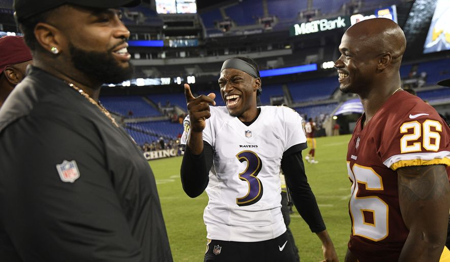 1134d13b658a Robert Griffin III makes Ravens roster - Washington Times