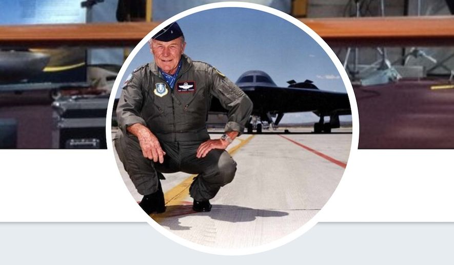 Retired aviation icon Gen. Chuck Yeager. (Image: Twitter, Gen. Chuck Yeager)