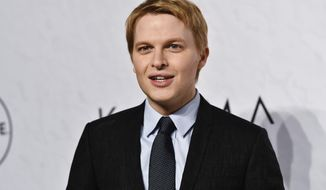 FILE - In this April 13, 2018 file photo, Ronan Farrow attends Variety's Power of Women event in New York. Farrow's former producer at NBC News, Rich McHugh, is criticizing his old network for failing to stick with the story about Hollywood mogul Harvey Weinstein's sexual misconduct, for which Farrow eventually shared a Pulitzer Prize when he wrote it for the New Yorker magazine. NBC contends that its management disagreed with Farrow over whether he had enough material to do the story, and Farrow pushed to leave. (Photo by Evan Agostini/Invision/AP, File)
