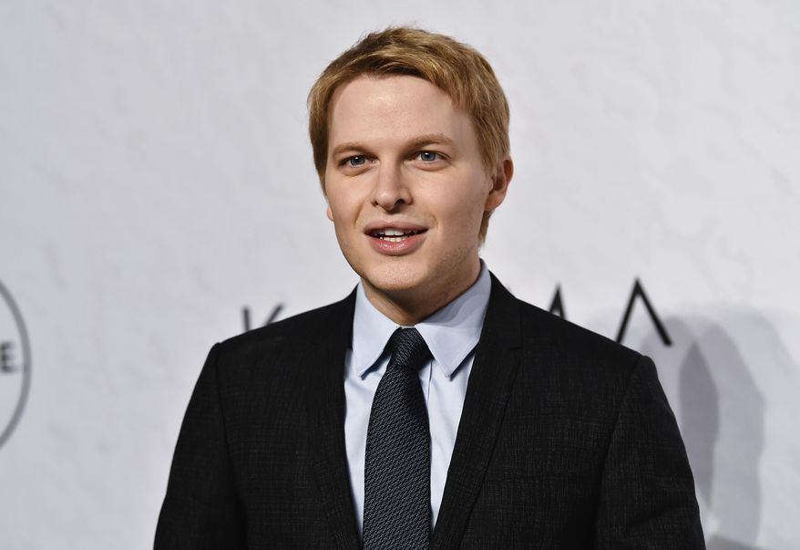 FILE - In this April 13, 2018 file photo, Ronan Farrow attends Variety's Power of Women event in New York. NBC's news chairman has sent an exhaustive defense of the network's handling of Farrow's investigation of Harvey Weinstein to his staff members, saying any speculation that the disgraced Hollywood mogul had any role in the network's rejection of the story was baseless. NBC's decision not to air a story became an embarrassment, and returned to the news last week when Farrow's former producer publicly criticized the network. (Photo by Evan Agostini/Invision/AP, File)