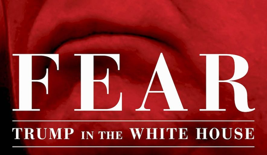 """Fear; Trump in the White House,"" a tell-all book by Bob Woodward, has hit No. 1 on Amazon a week before its publication on Sept. 11, 2018. (Simon & Schuster)"